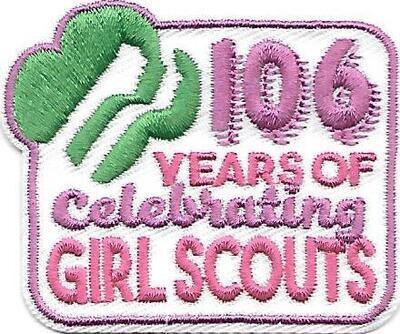 106th Anniversary Patch GSUSA