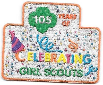 105th Anniversary Patch GSUSA