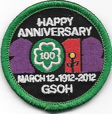 100th Anniversary Patch GSOH