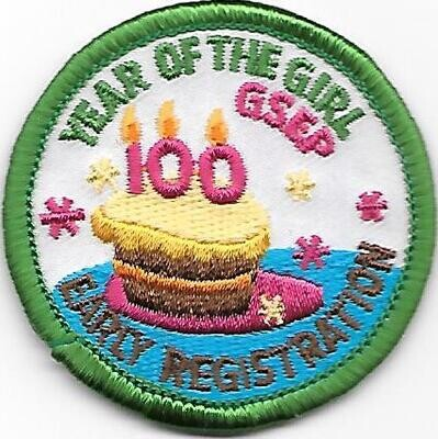 100th Anniversary Patch GSEP