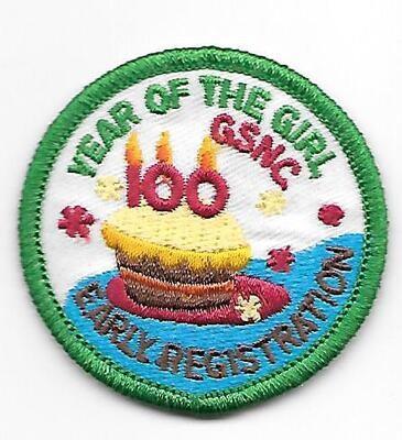 100th Anniversary Patch GSCNC