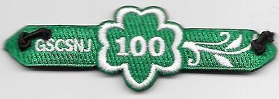 100th Anniversary Patch Bracelet GSCSNJ