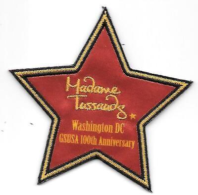 100th Anniversary Patch Madame Tussauds Washington DC