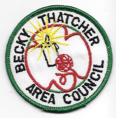 Becky Thatcher Area Council council patch (Missouri)