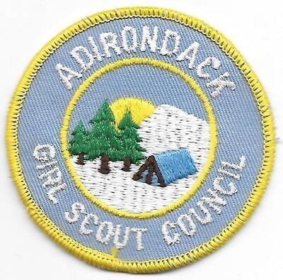 Adirondack GSC council patch (NY)