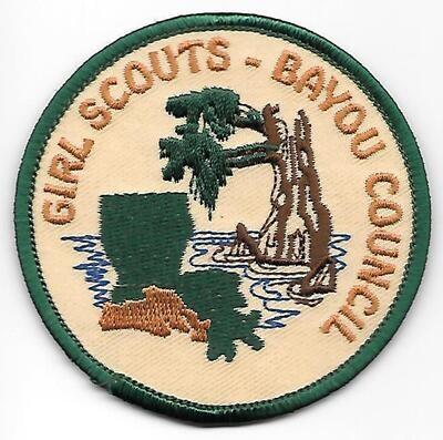 Bayou Council (GS) council patch (LA)