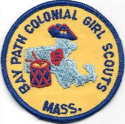Baypath Colonial GS council patch (MA)