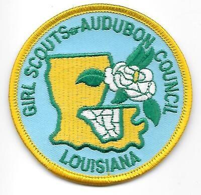 Audobon Council (GS of) council patch (Louisiana)