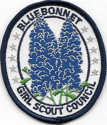 Bluebonnet GSC council patch (Texas)