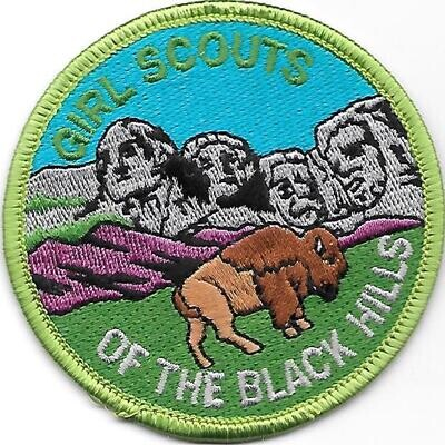 Black Hills (GS of) council patch (SD)
