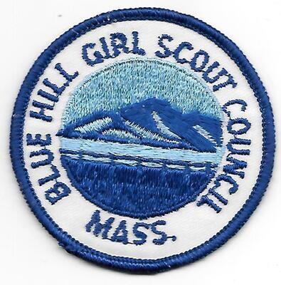 Bluehill GSC council patch (MA)