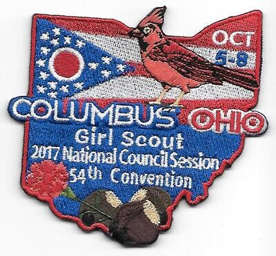 54th Convention Columbus Patch 2017