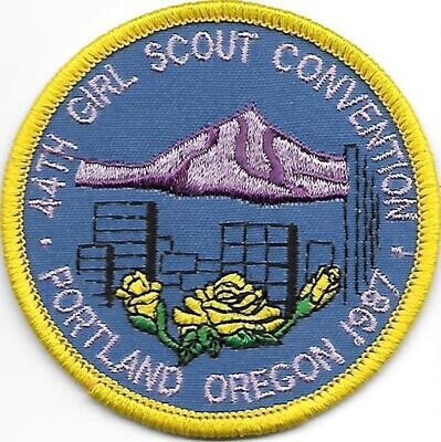 44th Convention Portland Patch 1987