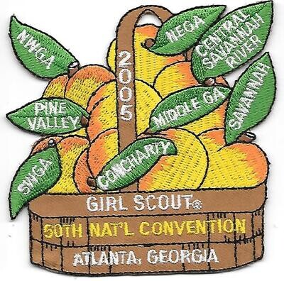 50th Convention Atlanta Combined Council Patch 2005
