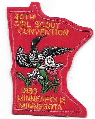 46th Convention Minneapolis Patch 1993