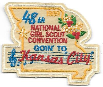 48th Convention Kansas City Patch 1999