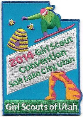 53rd Convention Salt Lake City Patch 2014 (larger)
