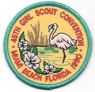 45th Convention Miami Beach Patch 1990