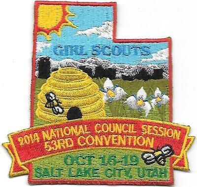 53rd Convention Salt Lake City Nat'l Council Session Patch 2014