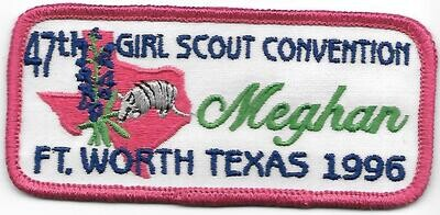 47th Convention Name Tag Patch 1996 (Meghan)