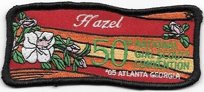 50th Convention Name Tag Patch 2005 (Hazel)