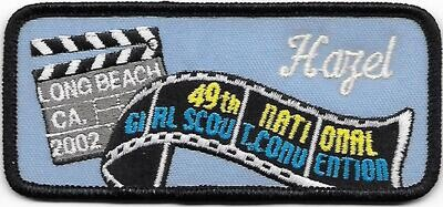 49th Convention Name Tag Patch 2002 (Hazel)