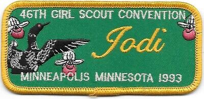 46th Convention Name Tag Patch 1993 (Jodi)