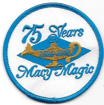 Macy 75th Anniversary Patch