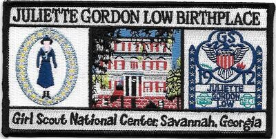 Birthplace patch large rectangle