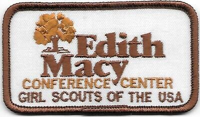 Edith Macy Conference Center Patch (smaller rectangle, brown border)