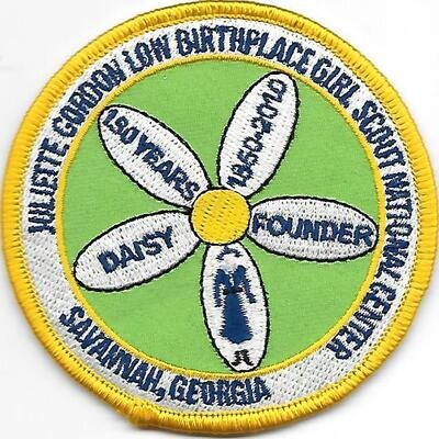 Birthplace patch (150 years JGL)