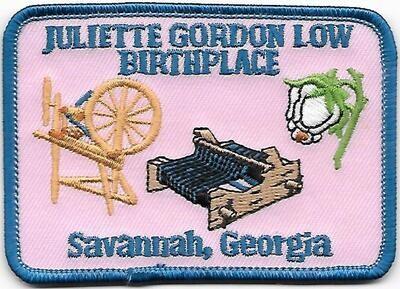 Birthplace patch (rectangle)
