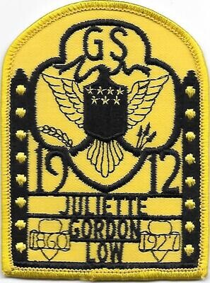 Birthplace patch (yellow background arch)