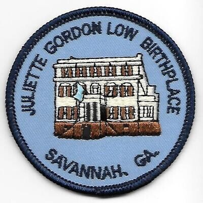 Birthplace patch (house brown on bottom)