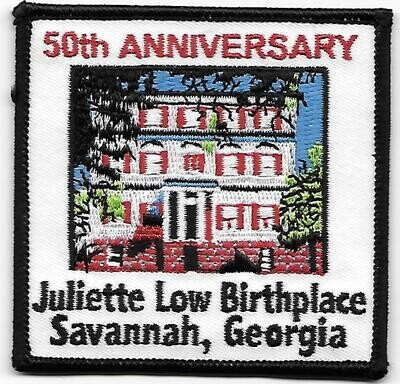 Birthplace patch 50th anniversary