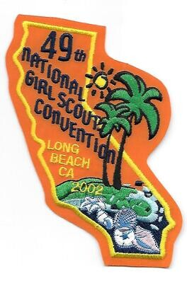 49th Convention Long Beach Patch 2002