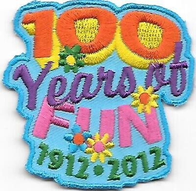 100th Anniversary Patch Generic Fun patch