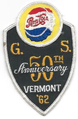 50th Anniversary Patch Vermont