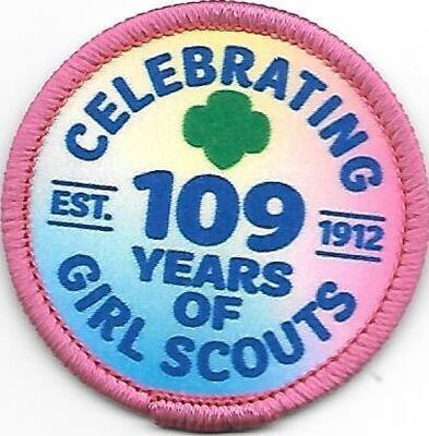 109th Anniversary Patch GSUSA
