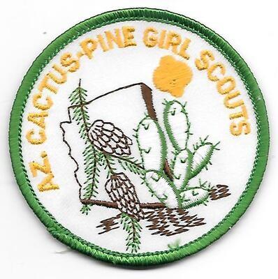 Az. Cactus-Pine GS council patch (AR)