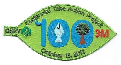 100th Anniversary Patch GSRV