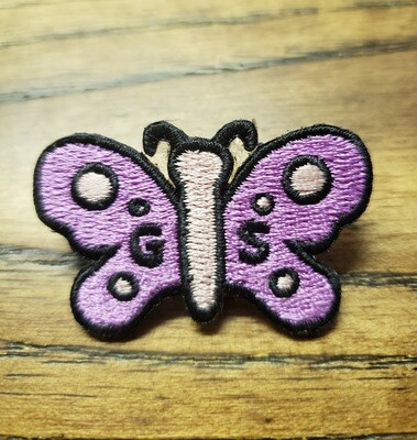 Butterfly Patch Pin