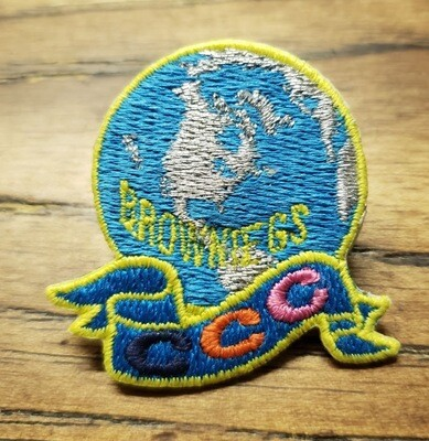Brownie Challenge Patch Pin