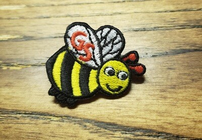 Bee Patch Pin