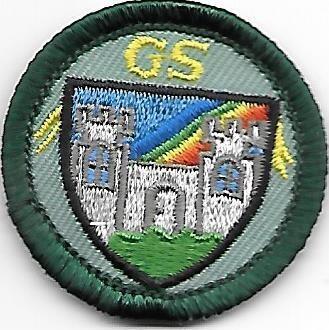 Making Medieval Magic Virginia Skyline Council own Junior Badge (Original)