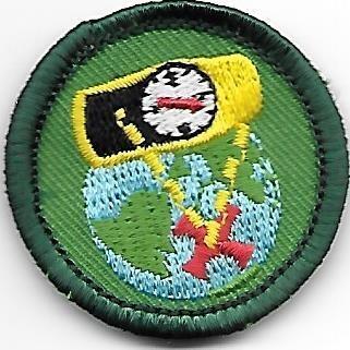 Geocaching Heart of MI Council own Junior Badge (Original)