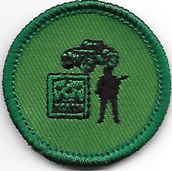 Army Pride Colonial Coast Council own Junior Badge (Original)