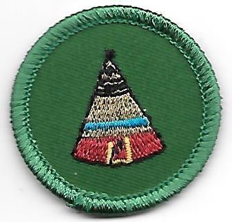 Native American Lore Black Diamond Council own Junior Badge (Original)