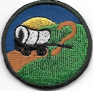 Trail of Mystery Sybaquay Council own Junior Badge (Original)