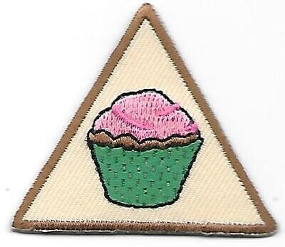 Cake Decorating, Original troop's own Brownie Try it (Original)